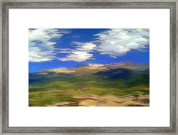 Vista Hills Framed Print