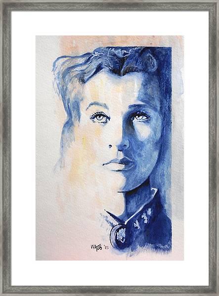 Vivian Leigh / Scarlett Framed Print