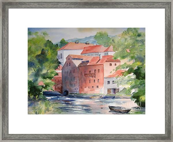 Vlatava Mill Framed Print