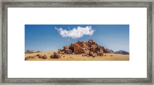 Volcanic Rocks Framed Print