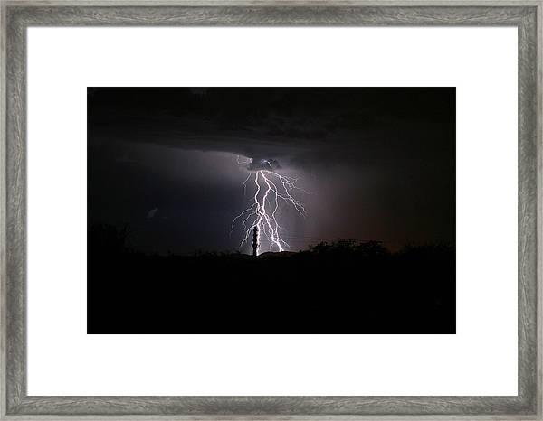 Voltage Framed Print