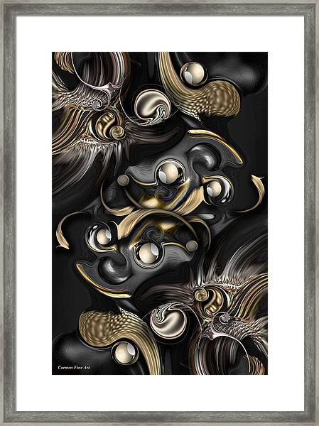 Volume With Formation Framed Print