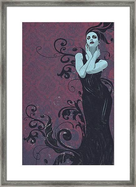 Voluted Framed Print