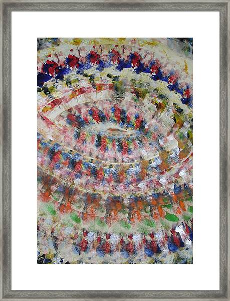 Vortex Framed Print by Russell Simmons
