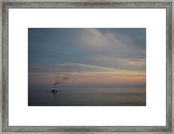 Voyage Home 3 Framed Print