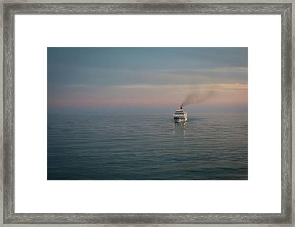 Voyage Home 4 Framed Print