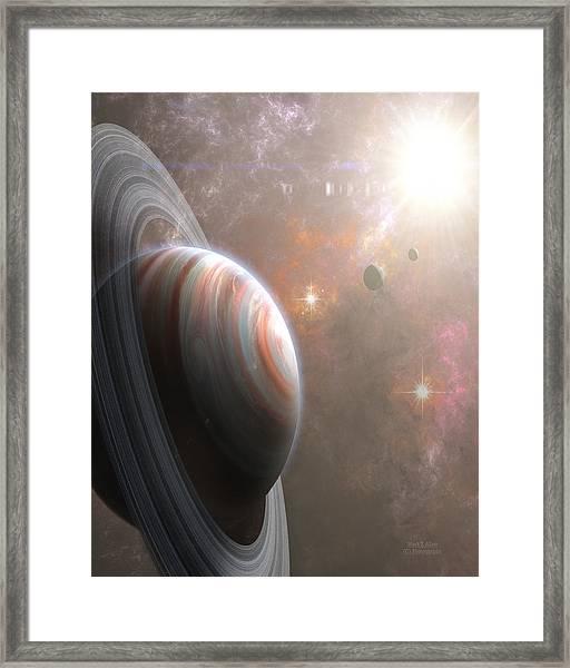 Vulcan Framed Print