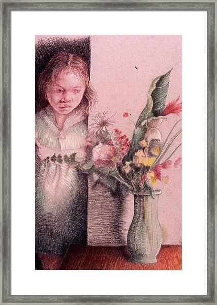 Vulnerable Framed Print