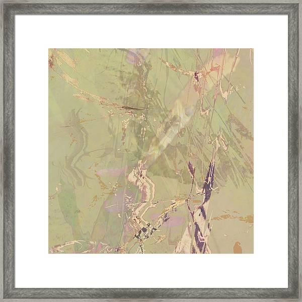 Wabi Sabi Ikebana Revisited Shabby 1 Framed Print