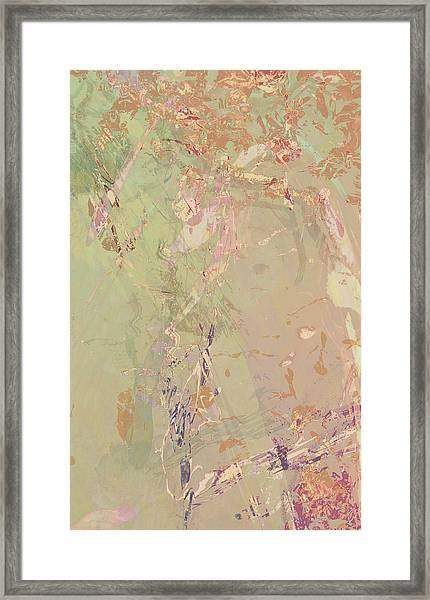 Wabi Sabi Ikebana Romantic Fall Framed Print