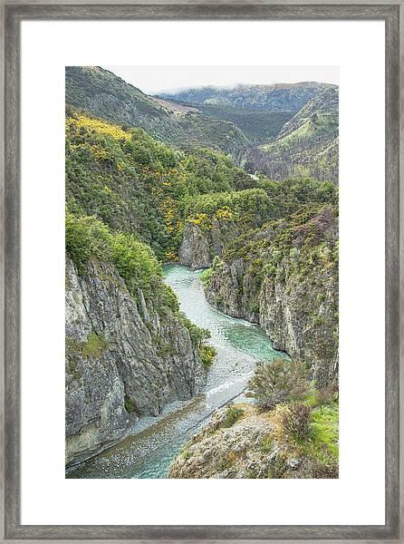 Waimakariri Gorge Framed Print