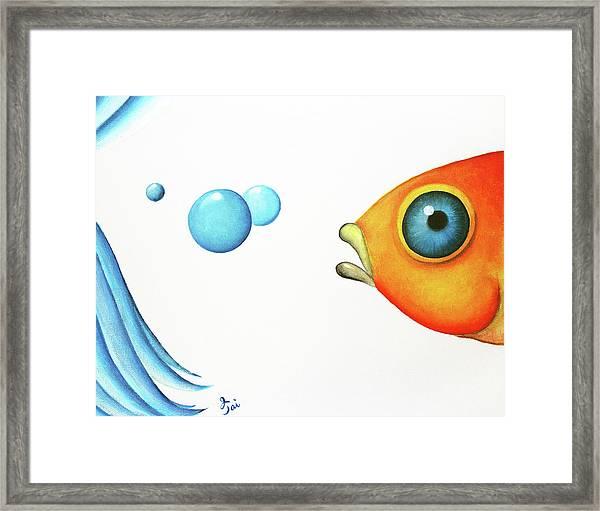 Wait Up  Framed Print