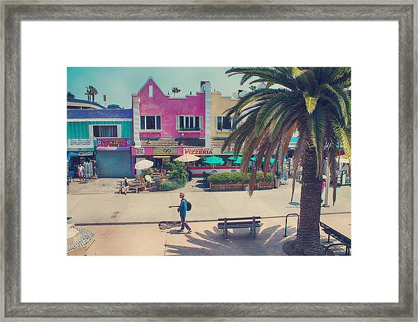 Waitin' For Victorio Framed Print