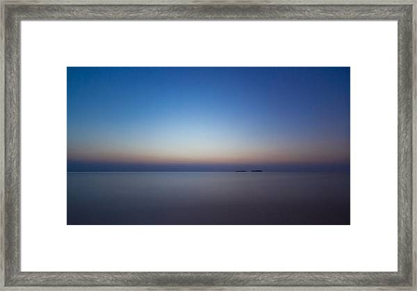 Waiting For A New Day Framed Print