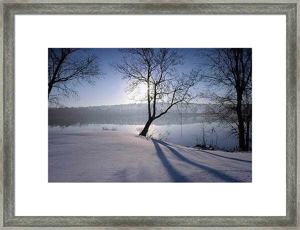 Waiting For Summer Framed Print by Ross Powell