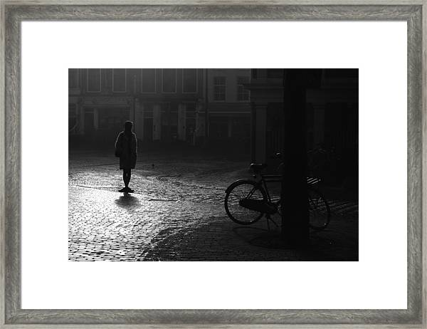Waiting.... Framed Print