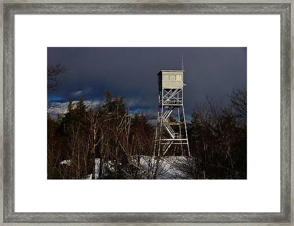 Waiting Tower Framed Print
