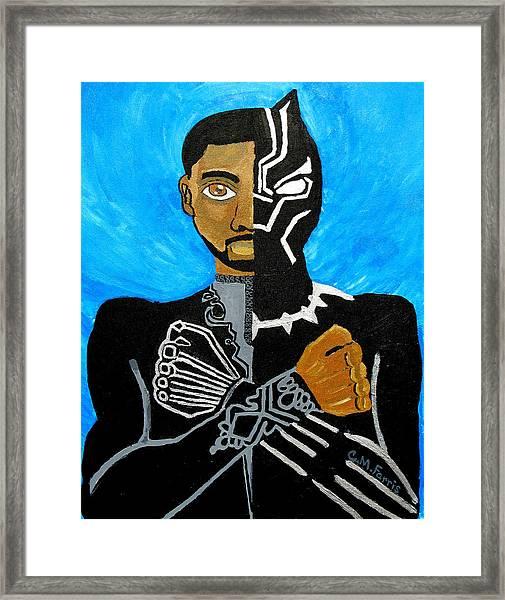 Wakanda Forever Framed Print