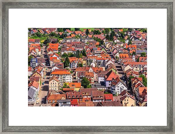 Waldkirch 2 Framed Print