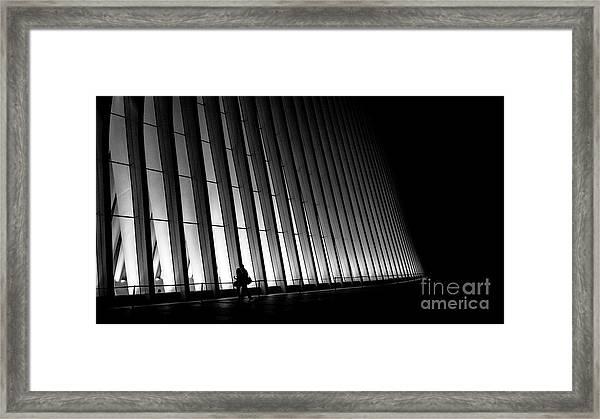 Walker Framed Print