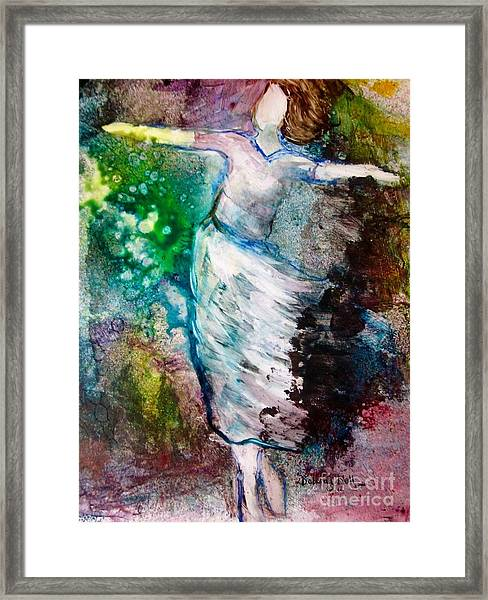 Walking In The Spirit Framed Print