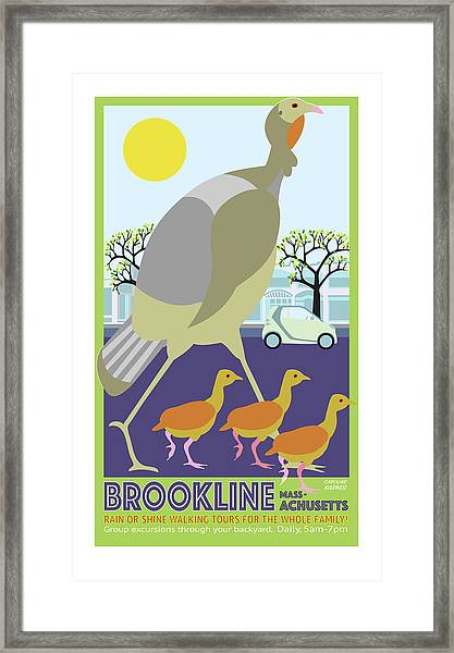 Walking Tours Framed Print