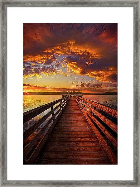 Walkyn Skywyrd Framed Print