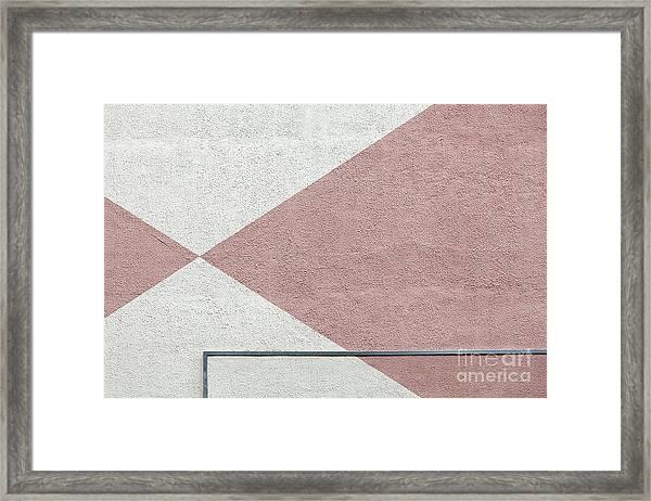 Wall #2944 Framed Print