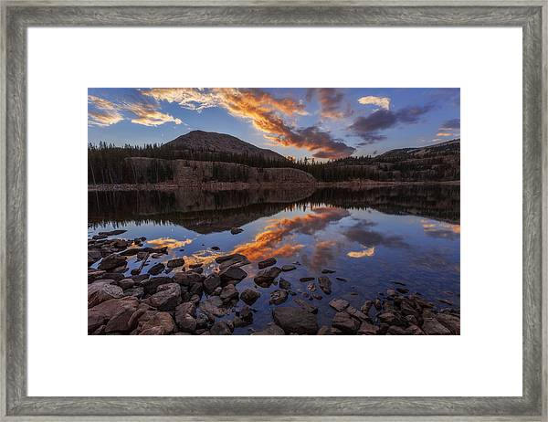 Wall Reflection Framed Print