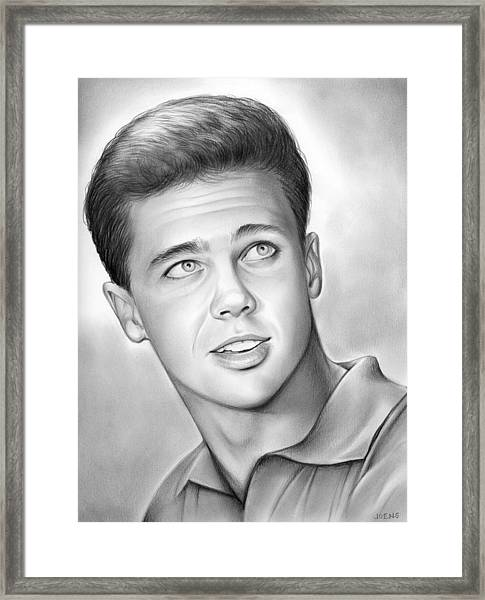 Wally Cleaver Framed Print