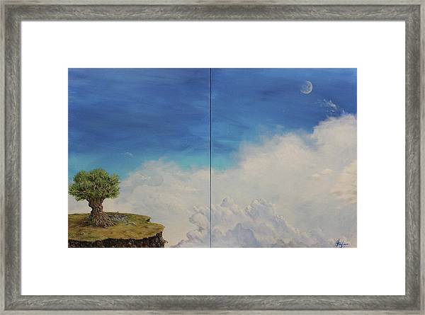 War And Peace Framed Print