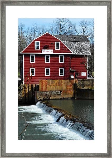 War Eagle Mill Framed Print