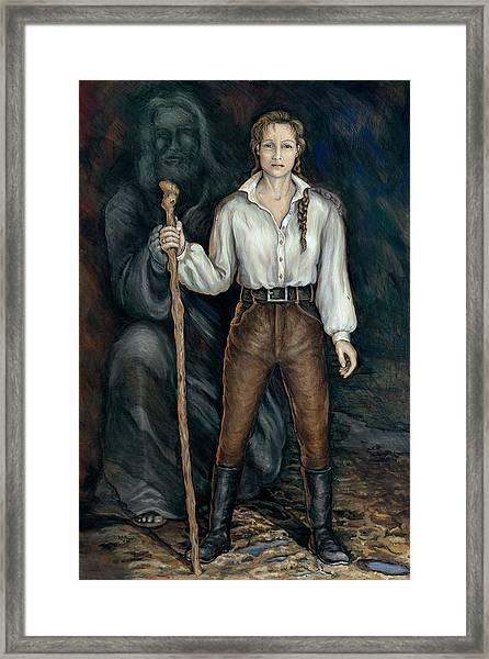 War Queen Of Turmoil Framed Print