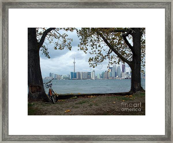 Wards Island Framed Print