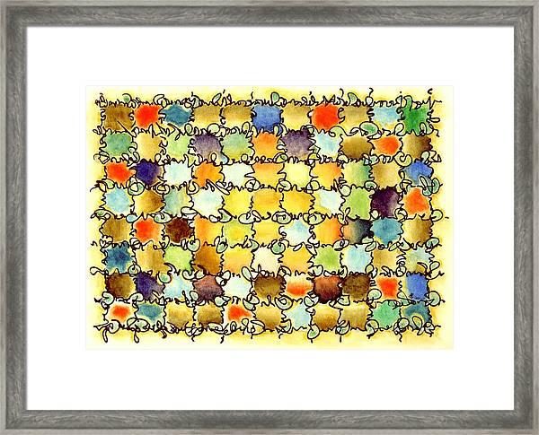 Warm Light Framed Print