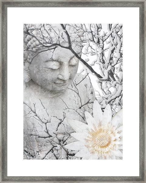 Warm Winter's Moment Framed Print