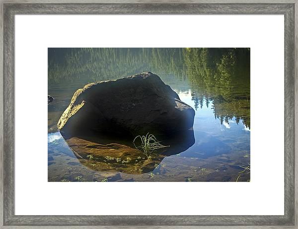 Warming Sun Framed Print