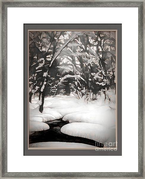 Warmth Of A Winter Day Framed Print