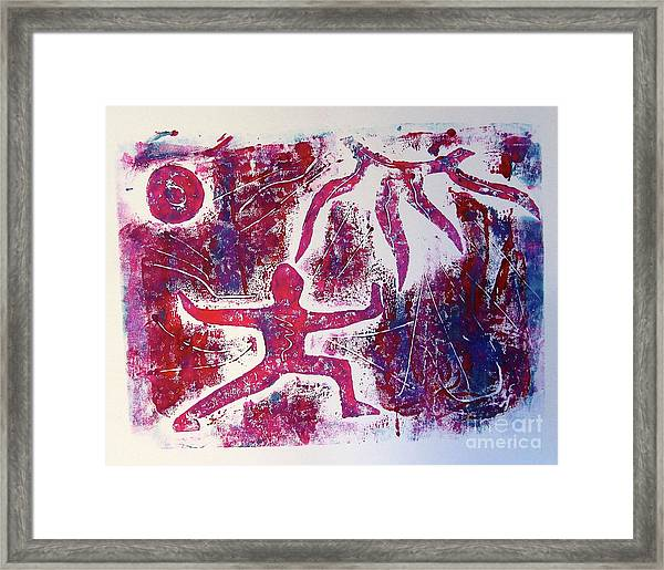 Warrior One  Framed Print