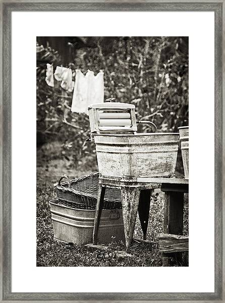 Wash Day 2 Framed Print