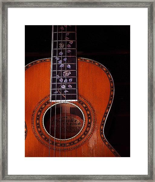 Washburn Guitar Framed Print
