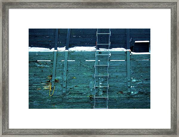 Washingon Yellow Rope Framed Print