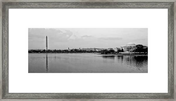 Washington Landmarks Framed Print