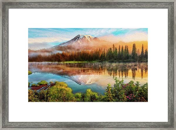 Washington, Mt Rainier National Park - 04 Framed Print