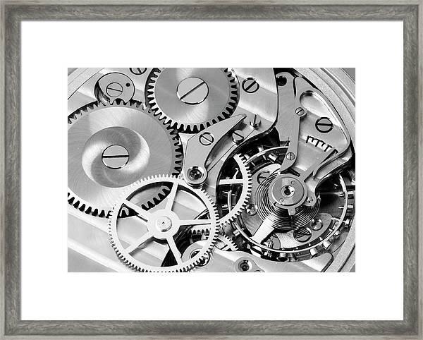 Watch Works Framed Print