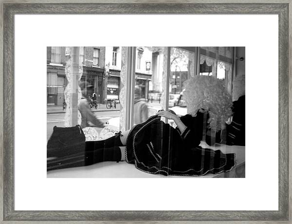 Watching You But You Do Not See Me Framed Print by Jez C Self