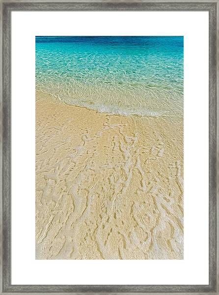 Water Abstract 1 Framed Print
