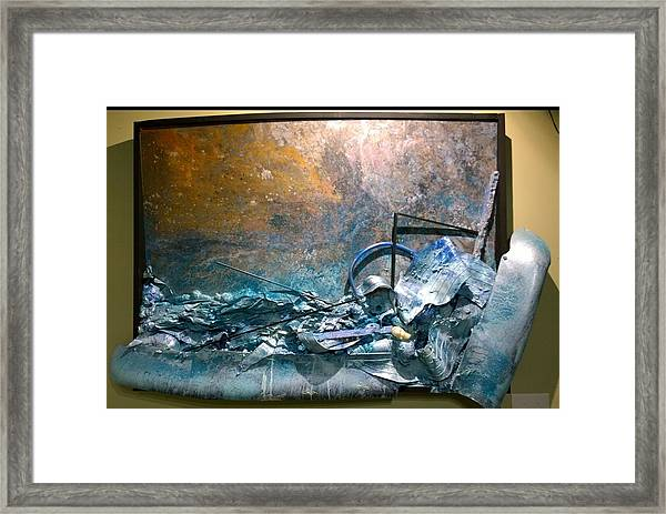 Water Abstract #31017 Framed Print