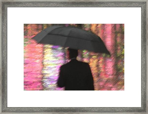 Water And Colors Framed Print by Dan Holm