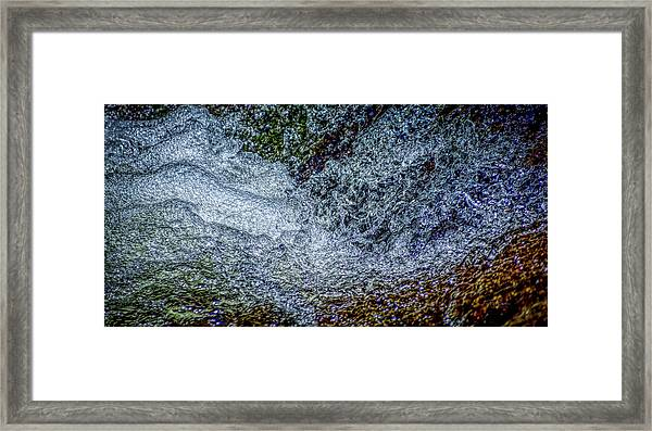 Water Art 8 Framed Print